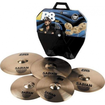 SABIAN B8 Rock Set + кейс