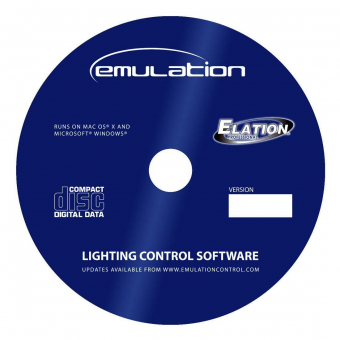 Elation Emulation - DMX software