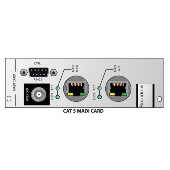 Soundcraft CSB Optical MADI HD card Multi mode