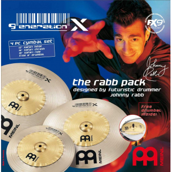 Meinl Generation X Johnny Rabb GX-12/16/18