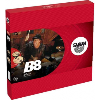 "SABIAN B8 plus ""2 pack"""