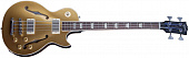 GIBSON MEMPHIS ES-LES PAUL BASS GOLD TOP