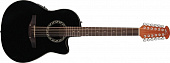 Ovation APPLAUSE AB2412-5 Balladeer Mid Cutaway Black